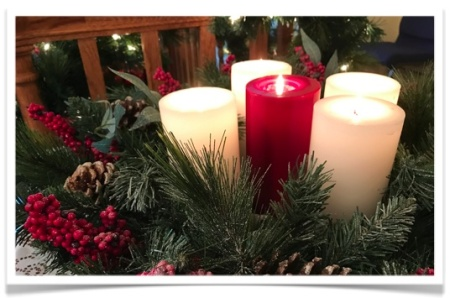 advent-wreath-5-candles-framed