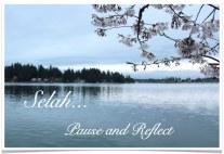 Selah - Pause Reflect