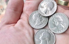 Susan B Anthony vs quarter