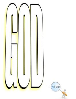 God vs evil age - perspective -e
