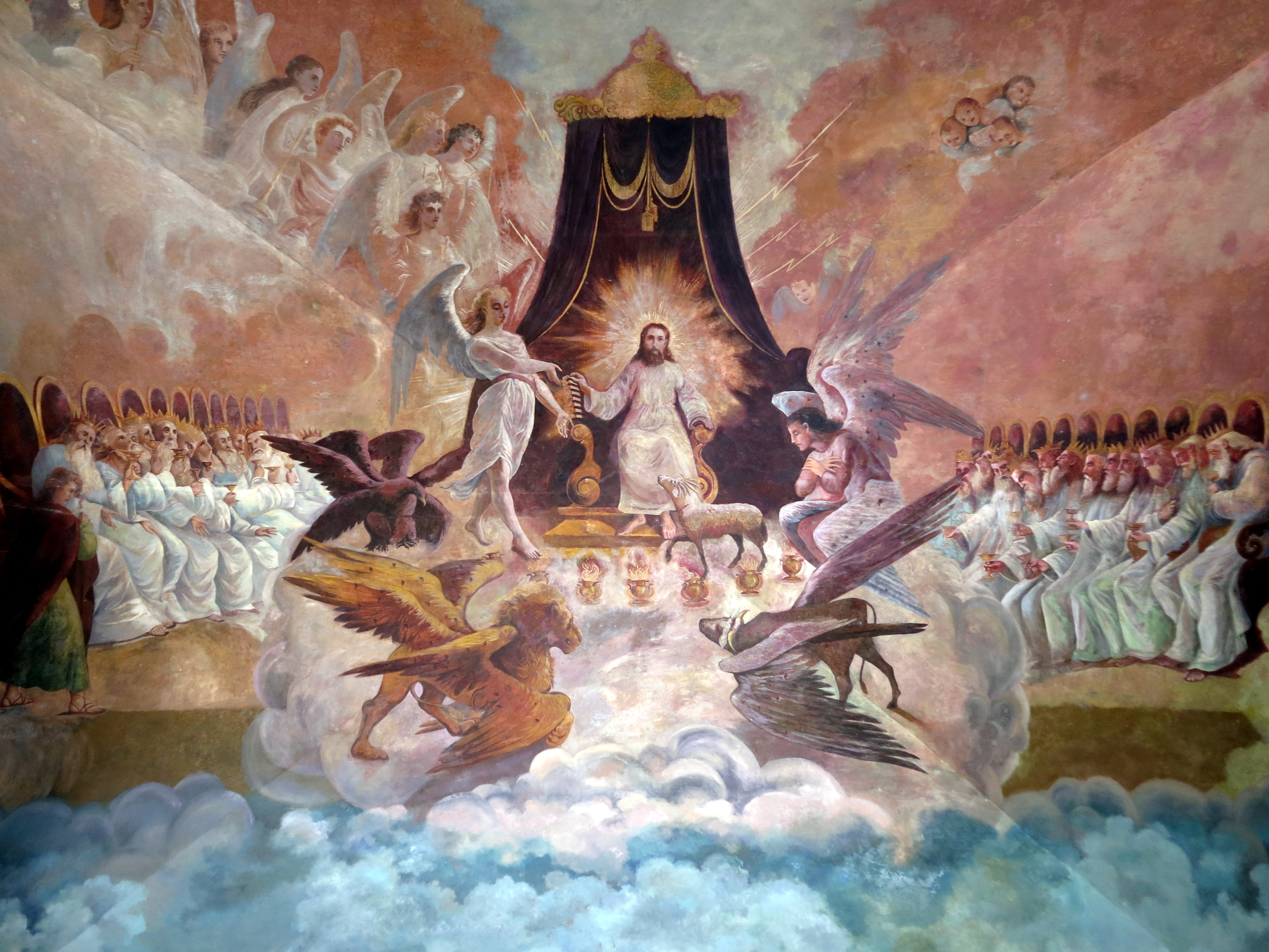 The United States of the Solar System, A.D. 2133 (Book Ten) - Page 5 Catedral-de-la-purisima-concepcion-tepic-nayarit-portal-vault-mural-of-revelation-chapter-5-large