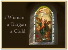 Woman Dragon and Child b2