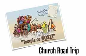Church Road Trip - temple or bust