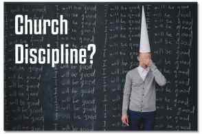 Church Disicpline