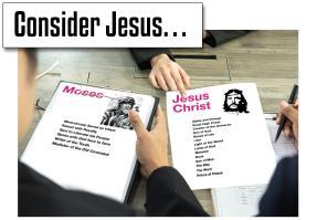 Consider Jesus b